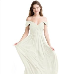 Azazie Bridesmaids Dress (Frost)